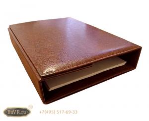 Фото Кожаные папки для бумаг