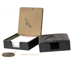 Фото коробочка для блока бумаг