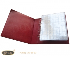 Фото Папки с съемными файлами для монет