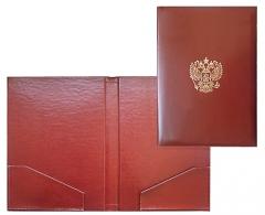 папка с двумя карманами
