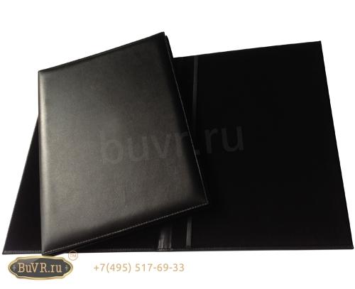 изготовление папки адресной черного цвета